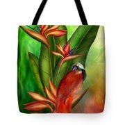 Birds Of Paradise Tote Bag by Carol Cavalaris