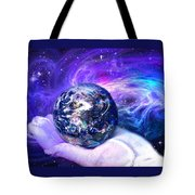 Birth Of A Planet Tote Bag by Lisa Yount
