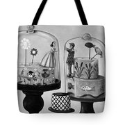 Bittersweet In Bw Tote Bag by Leah Saulnier The Painting Maniac