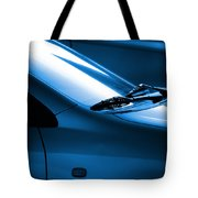 Black and Blue Cars Tote Bag by Carlos Caetano