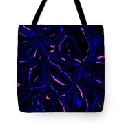 Black And Blue With A Splash Of Pink Tote Bag by Aimee L Maher Photography and Art Visit ALMGallerydotcom