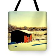 Black And Color Tote Bag by Frozen in Time Fine Art Photography