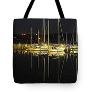 Black As Night Tote Bag by Frozen in Time Fine Art Photography