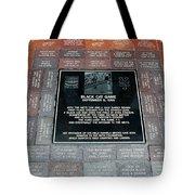 Black Cat Game Tote Bag by Rob Hans