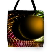 Black Hole Tote Bag by Cheryl Young