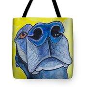 Black Lab Nose Tote Bag by Roger Wedegis