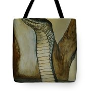 Black Mamba Tote Bag by Tracey Beer