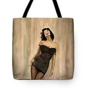 Black Passion Tote Bag by Shlomo Zangilevitch
