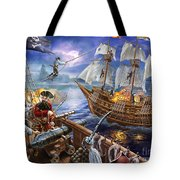 Blackbeard Tote Bag by Adrian Chesterman