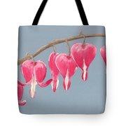 Bleeding Hearts Tote Bag by Anastasiya Malakhova