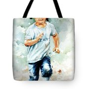 Blind Dash For First Tote Bag by Hanne Lore Koehler
