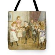 Blind Mans Buff Tote Bag by George Goodwin Kilburne