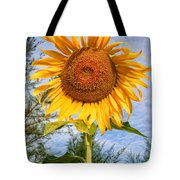 Blooming Sunflower V2 Tote Bag by Adrian Evans
