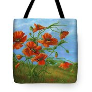 Blowing In The Wind Tote Bag by Catherine Howard