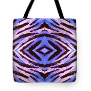 Blue 42 Tote Bag by Drew Goehring