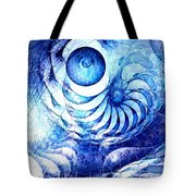 Blue Dream Tote Bag by Anastasiya Malakhova