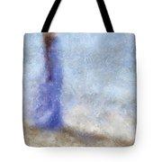 Blue Dream. Impressionism Tote Bag by Jenny Rainbow