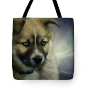 Blue Eyes Tote Bag by Jacque The Muse Photography