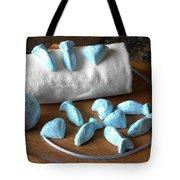 Blue Fish Bath Bombs Tote Bag by Anastasiya Malakhova