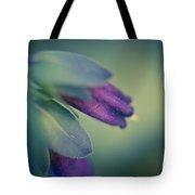 Blue Honeywort Tote Bag by Priya Ghose