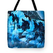 Blue Moon Tote Bag by Betsy Knapp