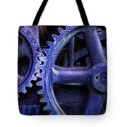 Blue Power Tote Bag by David and Carol Kelly