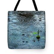 Blue Rain - Featured 3 Tote Bag by Alexander Senin