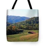 Blue Ridge Scenic Tote Bag by Suzanne Gaff