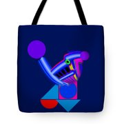 Blue Roost Tote Bag by Charles Stuart