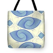 Blue Shells Tote Bag by Anastasiya Malakhova