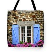 Blue Shutters Tote Bag by Elena Elisseeva