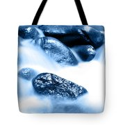 Blue Stream Tote Bag by Les Cunliffe