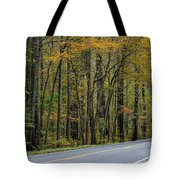 Blueridge Parkway Virginia Tote Bag by Todd Hostetter