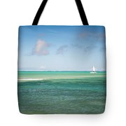 Blues. Mauritius Tote Bag by Jenny Rainbow