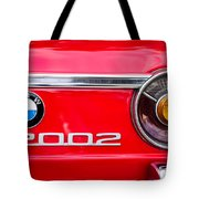 Bmw 2002 Taillight Emblem Tote Bag by Jill Reger
