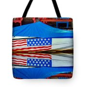Boat For Freedom  Tote Bag by Debra Forand