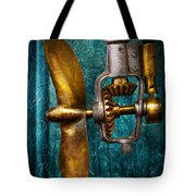 Boat - Propulsion  Tote Bag by Mike Savad