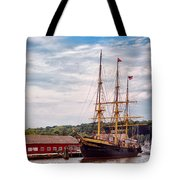 Boat - Sailors Delight Tote Bag by Mike Savad