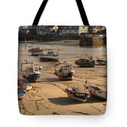 Boats On Beach 03 Tote Bag by Pixel Chimp