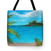 Boca Chica Beach Tote Bag by Anastasiya Malakhova