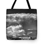 Boiling Sky Tote Bag by Trever Miller