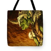 Bolg The Goblin King Tote Bag by Curtiss Shaffer