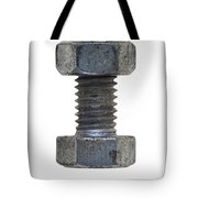 Bolt With Nut Tote Bag by Michal Boubin
