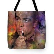Bond - James Bond Tote Bag by John Robert Beck