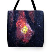 Bonefire Tote Bag by Sergey Bezhinets