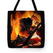 Bonfire  Tote Bag by Chris Berry