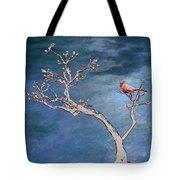 Bonsai Cardinal Tote Bag by John Haldane