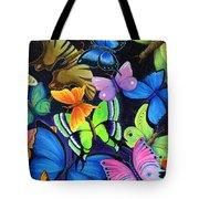 Born Again Tote Bag by Nancy Cupp