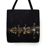 Boston City Skyline 2 Tote Bag by Corporate Art Task Force