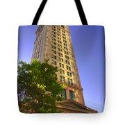 Boston Custom House 3 Tote Bag by Joann Vitali